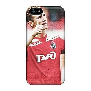 FlqCtZk1195GXwlO Case Cover Protector For Iphone 5/5s Lokomotiv Player Vladislav Ignatiev Case