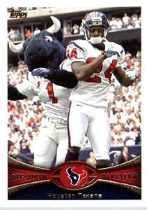 2012 Topps Football Card # 395 Houston Texans / Mascot - Houston Texans (Team Card)(NFL Trading Card)
