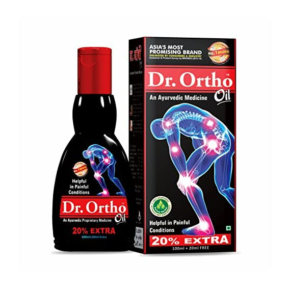 Dr Ortho Pain Relief Oil - 100ml+20ml Extra