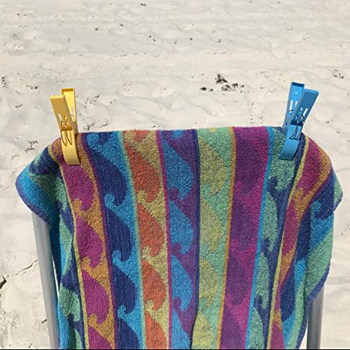 Plastic Clothes Jumbo Beach Towel Clips Chair Holder For Pool Chairs On Cruise