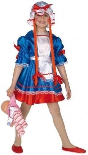 Otros Disfraz Infantil de muñeca de Trapo (3-5 años): Amazon.es ...