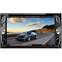 "Homelink 262 6.2"" Inch Touchscreen In-dash Double Din Car DVD Player Stereo Wireless Bluetooth Music CD MP3 FM Radio Receiver SD USB"