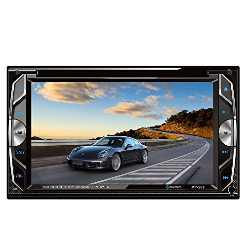 """Homelink 262 6.2"""" Inch Touchscreen In-dash Double Din Car..."""