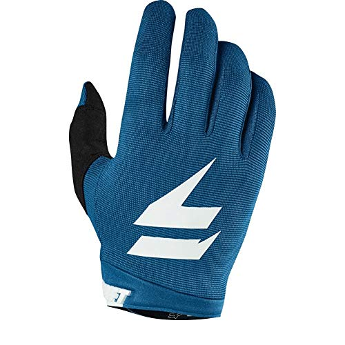 (Shift Racing Whit3 Air Men's Off-Road Motorcycle Gloves - Blue / 2X-Large)