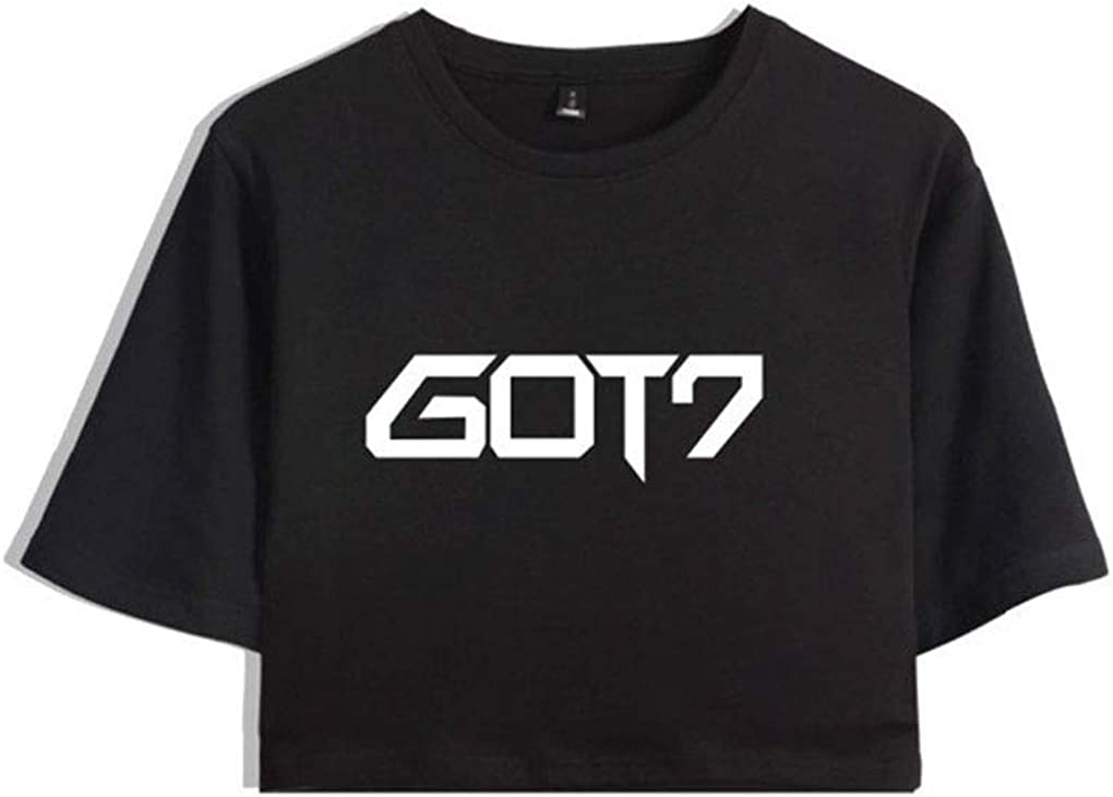 Lifestar Kpop GOT7 Double Sleeve Thin Hoodie for Unisex Black and Red