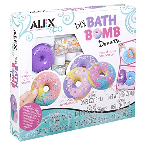 (ALEX Spa DIY Bath Bomb Donuts )