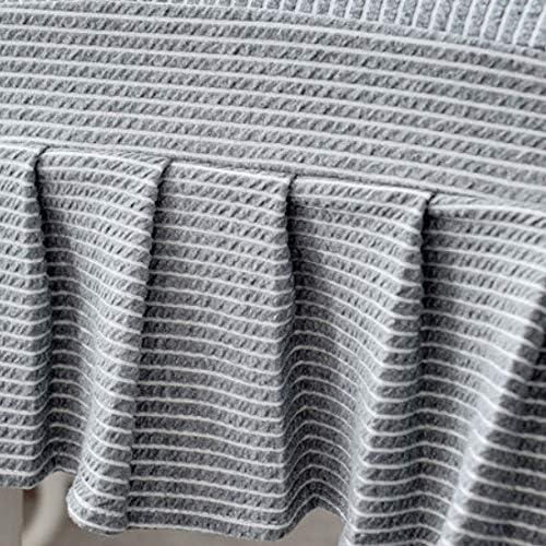 fenjinsheng Coprisedia con Schienale Knitting Casa Stretch Sedia Cuscino Set Semplice Hotel Sgabello Set Tavolo da Pranzo Copertura della Sedia Copertura Universale Stile Europeo