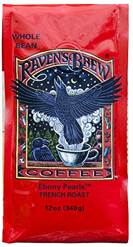 Ravens Brew Whole Bean Coffee 12 oz (Ebony - Sunglass Brands Expensive