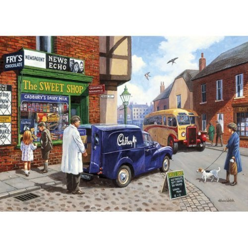 Gibsons The Sweet Shop 1000 Piece Puzzle by Gibson