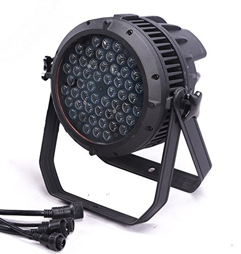 Led Par Light,Outdoor Led Light,IP65 Waterproof,54x3w RGBW,Aluminium Body, Use For Disco, Ballroom, KTV, Bar ,Club, Party, Wedding