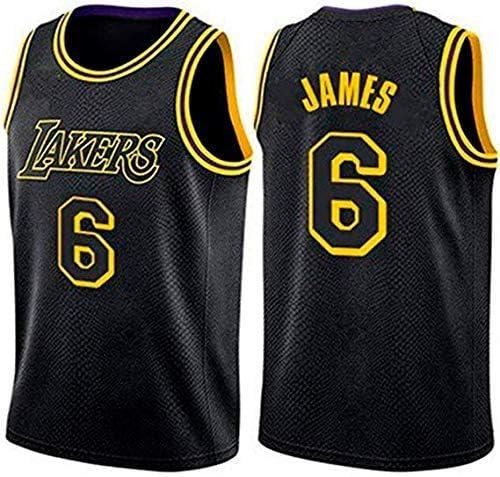 CCKWX Jersey de los Hombres- Los Angeles Lakers # 6 Lebron James ...