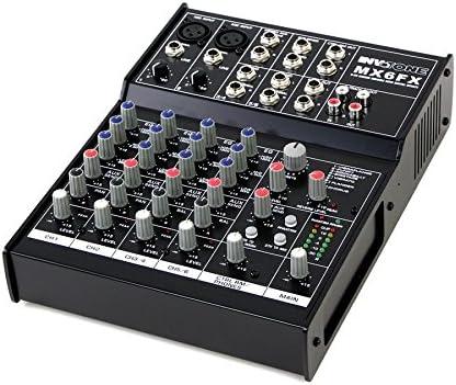 Invotone MX6FX Mesa de mezclas de 6 canales multiefectos DSP ...