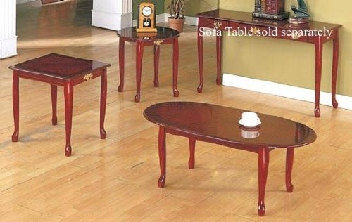 CHERRY COFFEE/END TABLE SET