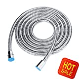 Shower Head Hose 10 Feet Handheld Extra Long Durable Stainless Steel Bathroom Flexible Tube New