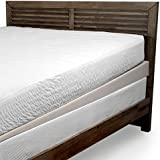 Beautyrest Polyurethane Foam Under Mattress Elevator | 5-Inch Descending to 1-Inch Mattress Wide Foam Wedge | Ring-of-Air Technology for Cooler Sleep, Full Size