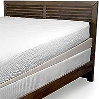 Beautyrest Polyurethane Foam Under Mattress Elevator | 5-Inch Descending to 1-Inch Mattress Wide Foam Wedge | Ring-of-Air Technology for Cooler Sleep, Full Size