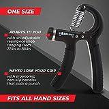 Grip Strength Trainer, Adjustable Hand Grip