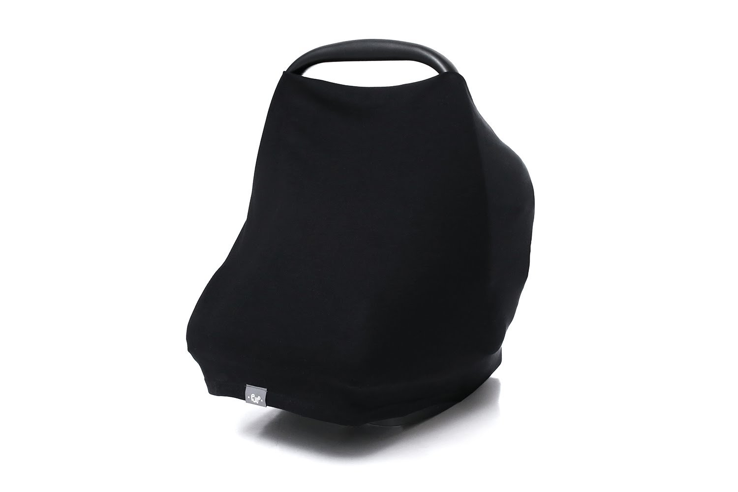 Black Nursing Cover Infinity Breastfeeding Scarf 100/% Eco Cotton Breathable Made in Europe High Quality Fabric