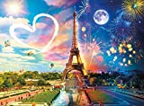 Buffalo Games - Day to Night - Paris Love - 1000 Piece Jigsaw Puzzle