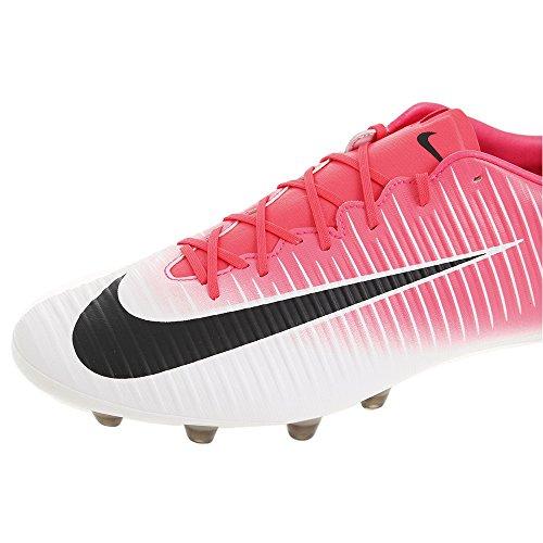 Nike Mercurial Veloce Iii Ag-Pro, Zapatillas de Fútbol para Hombre Rosa (Racer Pink/black White)