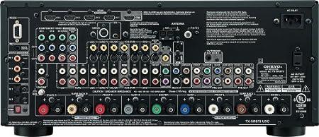 amazon com onkyo tx sr875 7 1 channel home theater receiver rh amazon com onkyo a 905 service manual