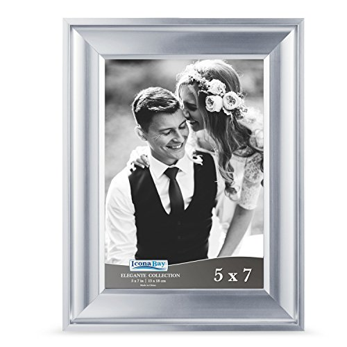 Icona Bay 5 by 7 Picture Frame  Photo Frame, Wall Mount Hang