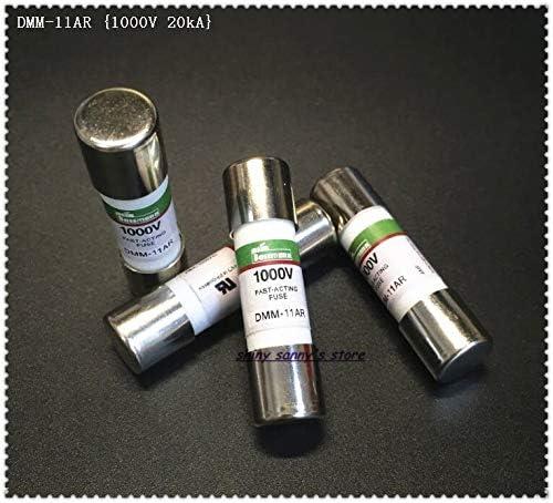 Davitu 5-15 pi/èces//lot 10 x 38 mm DMM-11AR,DMM-B-11AR 11A 1000V 20kA Fusible c/éramique /à action rapide pour multim/ètre