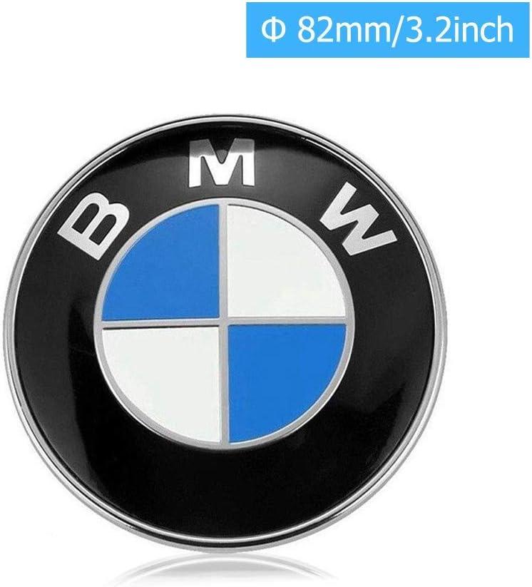 General purpose Emblem Logo Replacement for BMW Hood//Trunk 82mm for ALL Models E30 E36 E34 E60 E65 E38 X3 X5 X6 3 4 5 6 7 8