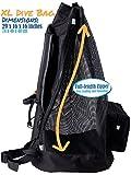 Athletico Scuba Diving Bag - XL Mesh Travel