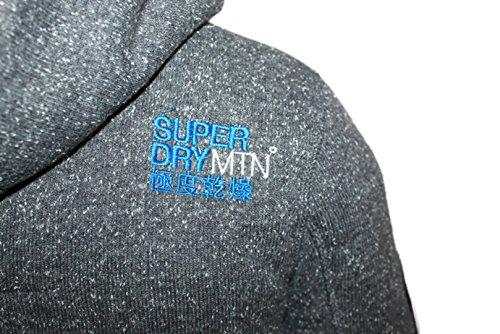 gilets cardigans superdry m20001snf1 gris