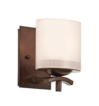 Amazon.com: kalco 2991tn Stapleford 1 luz Cuarto de baño ...
