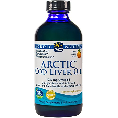 Nordic Naturals - Arctic CLO, Heart and Brain Health, and Optimal Wellness, Orange, 8 Ounces