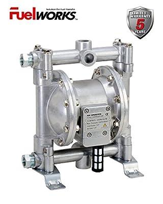 FUELWORKS Heavy Duty Air-Operated Aluminium Diaphragm Pump