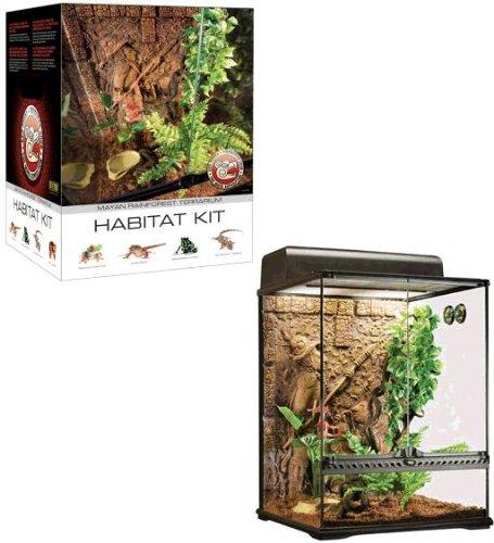 Exo Terra Maya Habitat Reptile Terrarium Starter Kit Amazon Co Uk