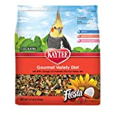 Kaytee Fiesta Fortified Gourmet Bird Food for Cockatiels, My Pet Supplies