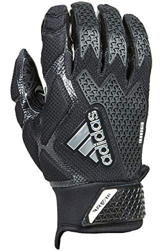 adidas Freak 3.0 Padded Receiver's Gloves, Black, Small -