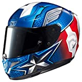 HJC Helmets RPHA 11 Pro Helmet - Captain America (Small) (RED/White/Blue)