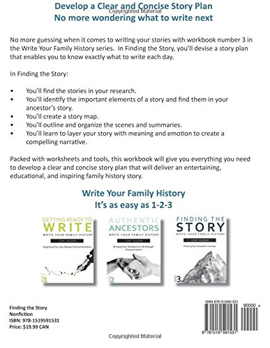finding the story plotting your ancestor s journey writing your
