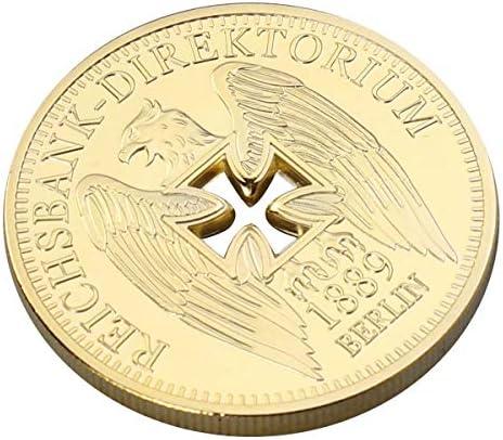 Amosfun Banco Imperial alemán Chapado en Oro Monedas ...
