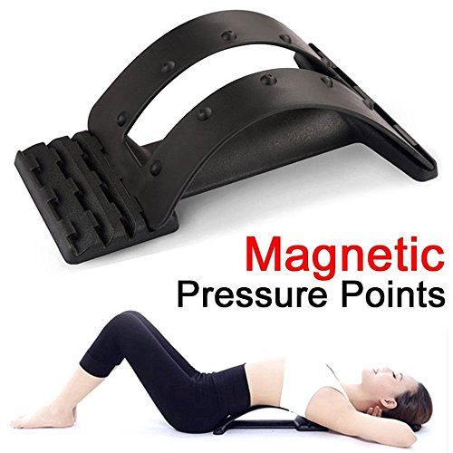 - Aptoco Magic Back Support Stretcher Spine Stretcher Lumbar Support Massager, Device for Back Stretching Pain Reliever Spinal Decompression