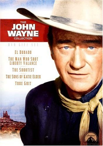 John Wayne DVD Gift Set (The Shootist/ The Sons of Katie Elder/ True Grit/ El Dorado/ The Man Who Shot Liberty Valance) by Paramount
