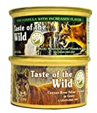 Taste of the Wild Cat Food Variety Pack (Rocky Mountain Feline with Salmon and Roasted Venison Formula & Canyon River Feline Trout and Salmon Formula) 6 of Each Flavor (3oz Variety Pack) Larger Image