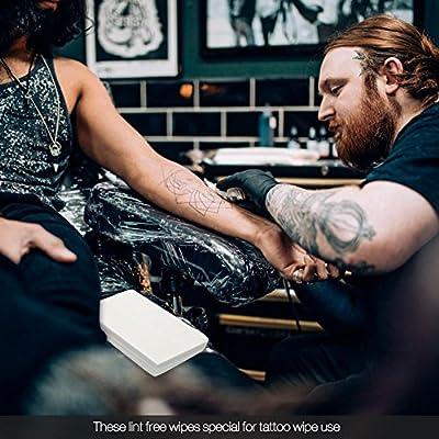 Toallitas de tatuaje,70 unidos Toallitas Dermo-Suavizantes de ...