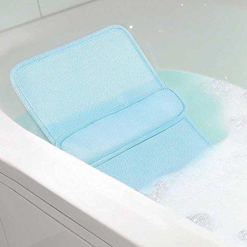 Home Spa Bath Lumbar Cushion - Custom Back Comfort Relaxation In The Tub JB7548