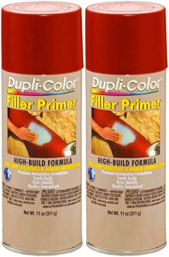 Dupli-Color FP102 Red Oxide Filler primer 11 oz. Aerosol (2 PACK)