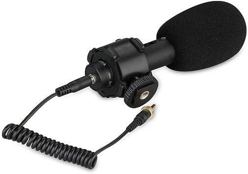 Boya BY-PVM50 Estéreo X / Y Direccional Microfono de ...