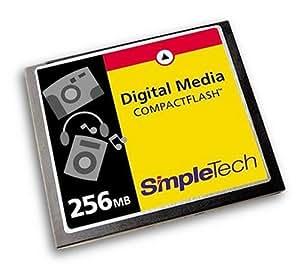 SimpleTech STI-CF/256 256 MB CompactFlash Card