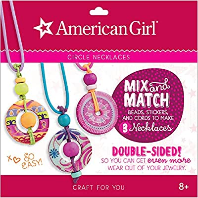 American Girl Crafts Mix & Match (Circle Necklace): Toys & Games