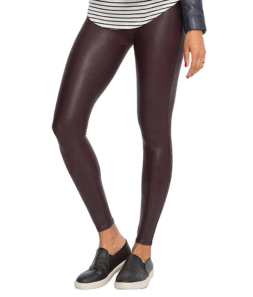 Spanx Ready-To-Wow Faux-Leather Ankle Legging (L) 2437