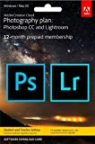 Adobe Creative Cloud Photography Plan | Student/Teacher | PC/Mac | Download
